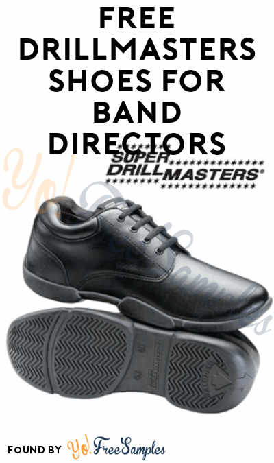 FREE Drillmasters Shoes For Band Directors (Email or Call Required)
