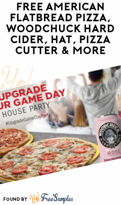FREE American Flatbread Pizza, Woodchuck Hard Cider, Hat, Pizza Cutter & More (21+ Only, Select States, Must Apply To RippleStreet)