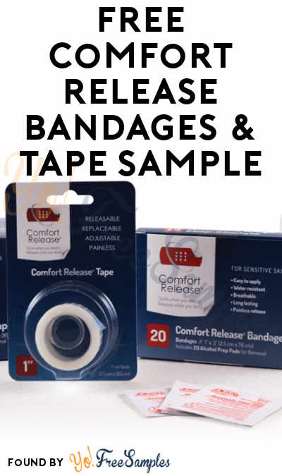 FREE Comfort Release Bandages & Tape Sample