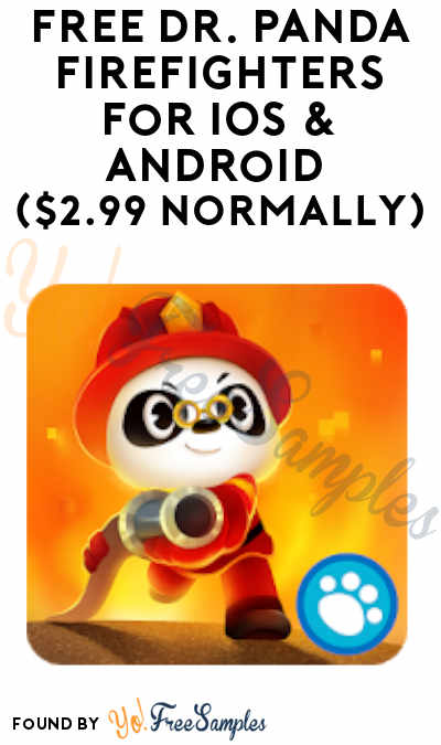 FREE Dr. Panda Firefighters For iOS & Android ($2.99 Normally)