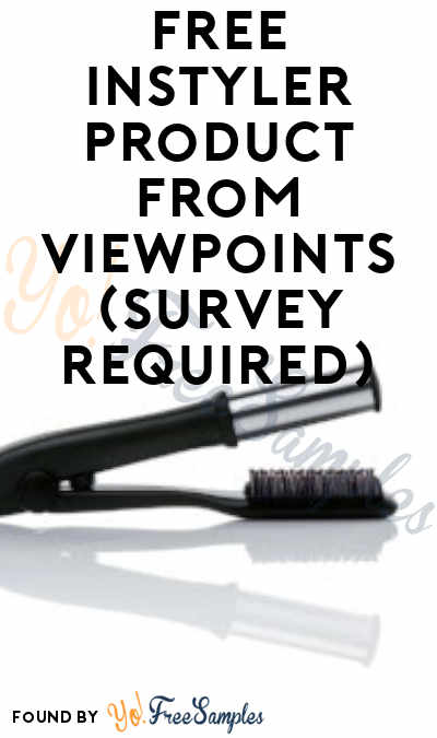 FREE InStyler Product From ViewPoints (Survey Required)