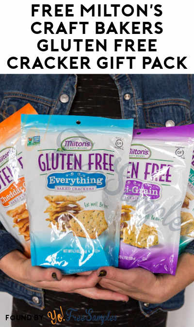 FREE Milton's Craft Bakers Gluten Free Cracker Gift Pack