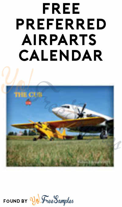 FREE Preferred Airparts 2019 Calendar