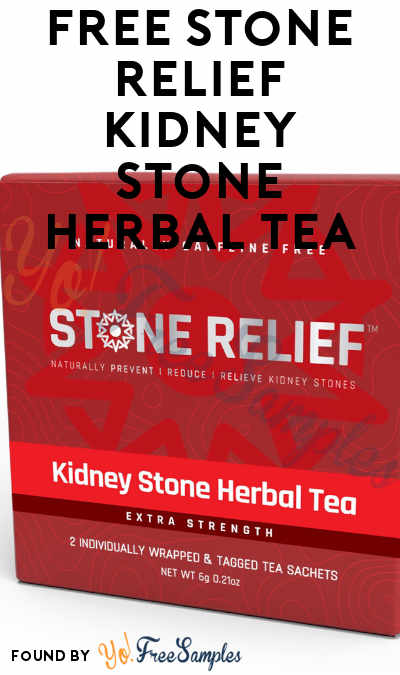 FREE Stone Relief Kidney Stone Herbal Tea