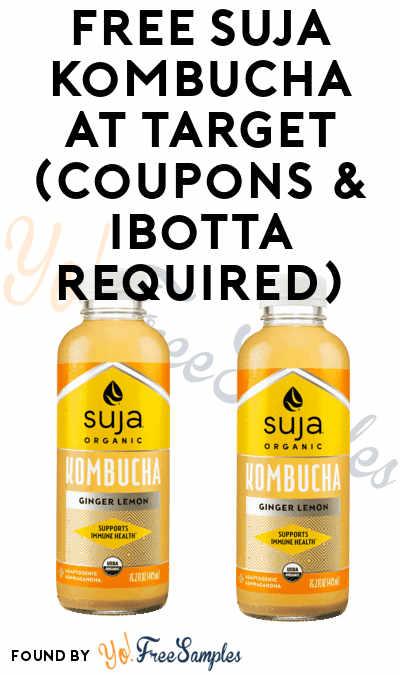 2 FREE Suja Kombuchas At Target (Coupons & Ibotta Required)