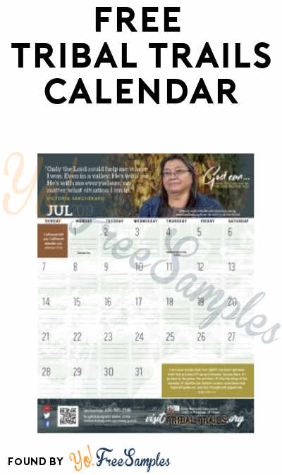 FREE Tribal Trails 2019 Calendar