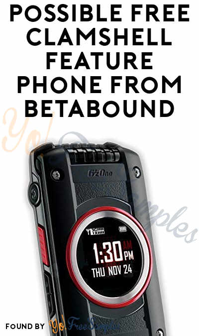 Possible FREE Clamshell Feature Phone From Betabound