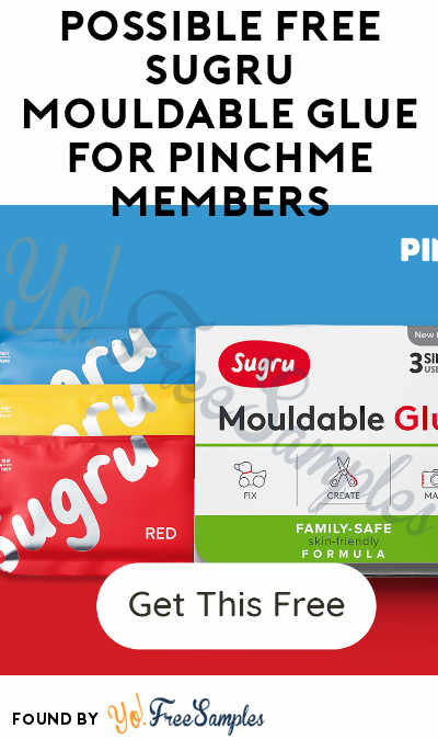 Possible FREE Sugru Mouldable Glue For PINCHme Members