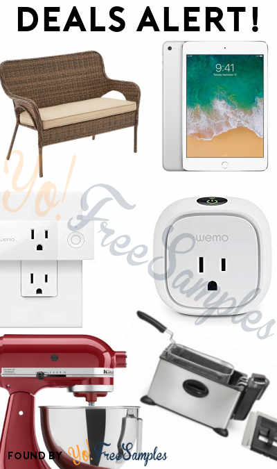 DEALS ALERT: iPad Mini 4, Wicker Bench, Wemo Smart Plug Bundle, KitchenAid Mixer & More