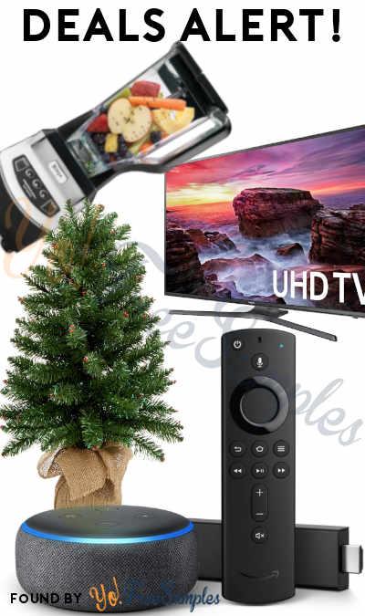 DEALS ALERT: Fire TV Stick 4K Bundle, 120 Hz 4K TV, Holiday Lane 30″ Tree, Ninja NJ600 Professional Blender & More