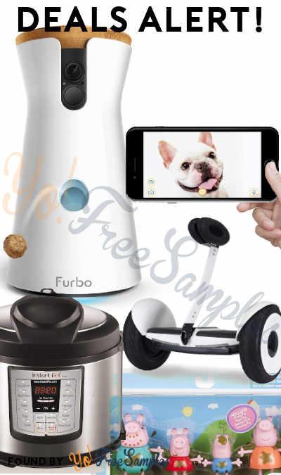 DEALS ALERT: Furbo Treat Tossing Dog Camera, Segway miniLITE, Peppa Pig Family, Instant Pot & More