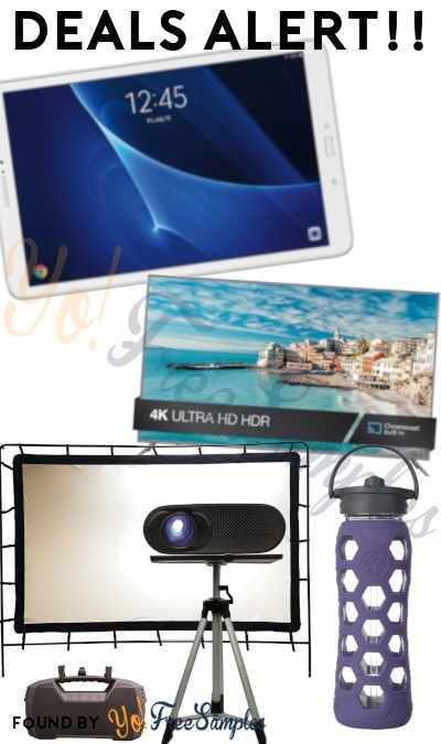 DEALS ALERT: Samsung Galaxy Tablet, Total HomeFX Family Theatre Kit, 65″ 4K JVC TV & More