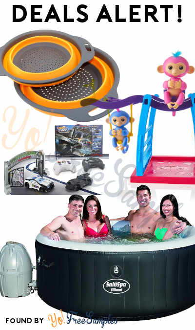 DEALS ALERT: Disney, Colander Set, Inflatable Hot Tub & More At Amazon & Walmart