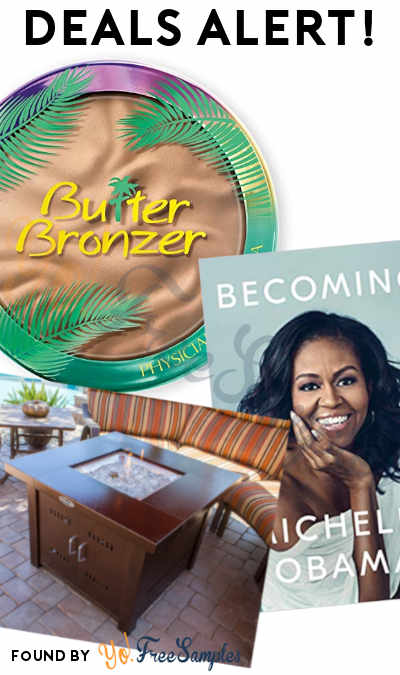 DEALS ALERT: Butter Bronzer, Becoming Book, Propane Fire Pit & More