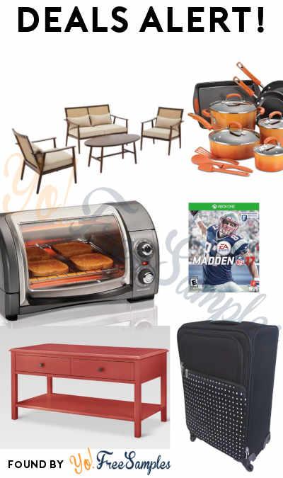 DEALS ALERT: Rachael Ray, Outdoor Furniture Set, Madden NFL 17 & More