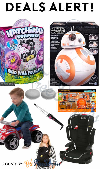 DEALS ALERT: Hatchimals, Star Wars, Paw Patrol, FREE Google Mini & More