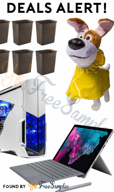 DEALS ALERT: The Secret Life of Pets, Weave Wastebaskets Set, Microsoft Surfrace Pro & More