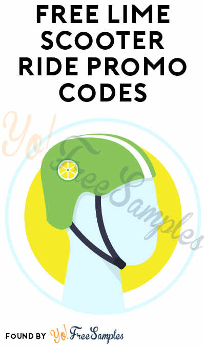 3-5 FREE Lime Scooter Ride Codes