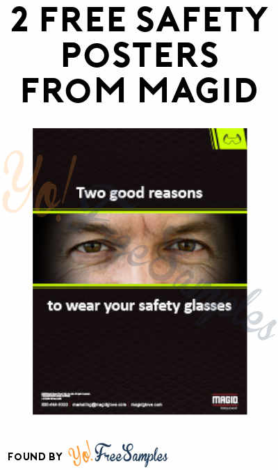 2 FREE Safety Posters From Magid