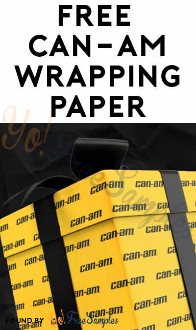 FREE Can-Am Wrapping Paper