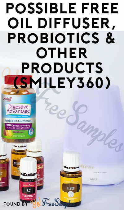 Possible FREE Probiotics & Other Products (Smiley360)