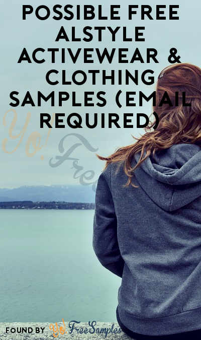 Possible FREE Alstyle Activewear & Clothing Samples (Email Required)