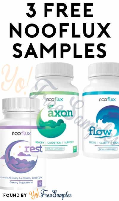 3 FREE Nooflux Samples