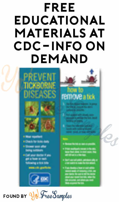 FREE Prevent Tickborne Diseases Bookmark