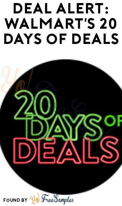 DEALS ALERT: Walmart's 20 Days of Deals
