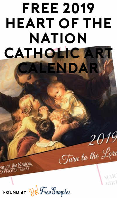 FREE 2021 Heart of the Nation Catholic Art Calendar