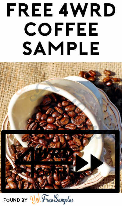 FREE 4wrd Coffee Sample