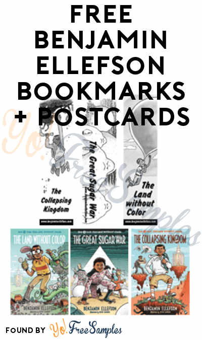 FREE Benjamin Ellefson Bookmarks + Postcards