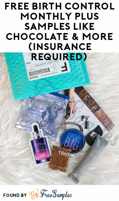 FREE Birth Control Monthly Plus Samples Like Chocolate & More (Insurance Required)