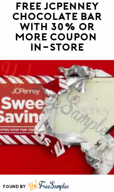 Jcpenney chocolate bar coupon