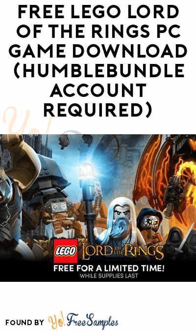 FREE LEGO Lord Of The Rings PC Game Download (HumbleBundle Account Required)