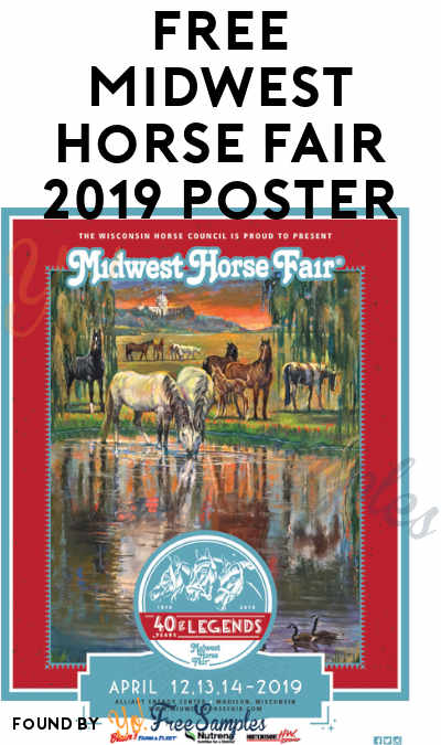 FREE Midwest Horse Fair 2019 Poster