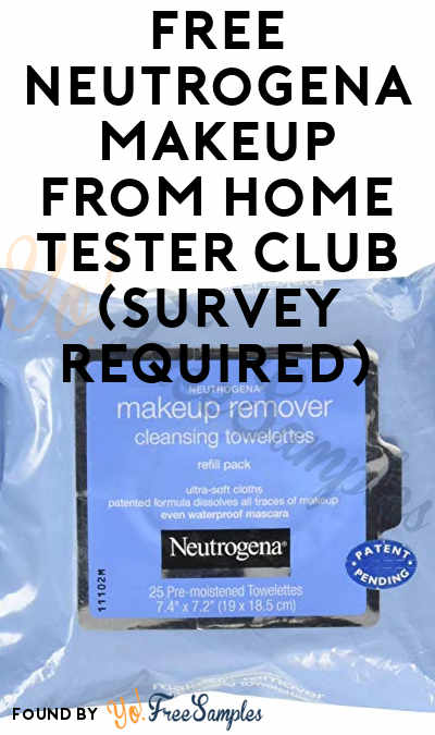 FREE Neutrogena Makeup From Home Tester Club (Survey Required)