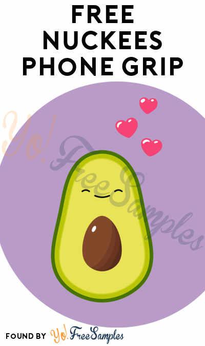 FREE Nuckees Phone Grip