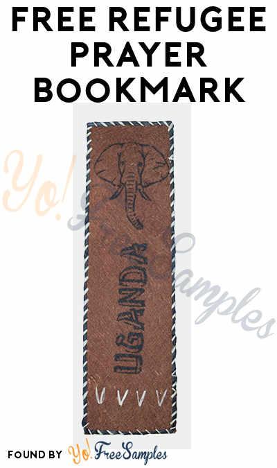 FREE Refugee Prayer Bookmark