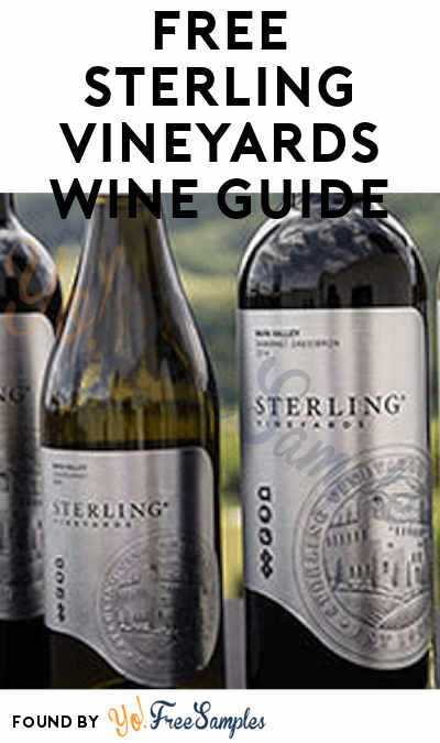 FREE Sterling Vineyards Wine Guide