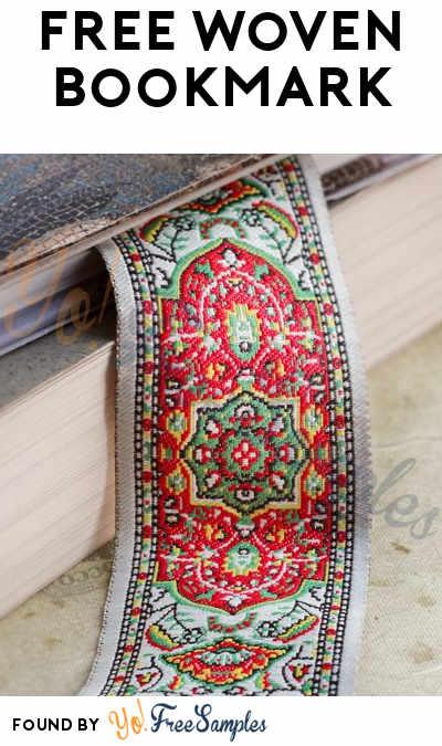 FREE Woven Bookmark