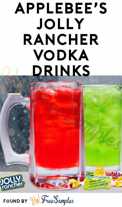 DEAL ALERT: $1 Jolly Rancher Vodka Drinks & Hard Candy From Applebee's