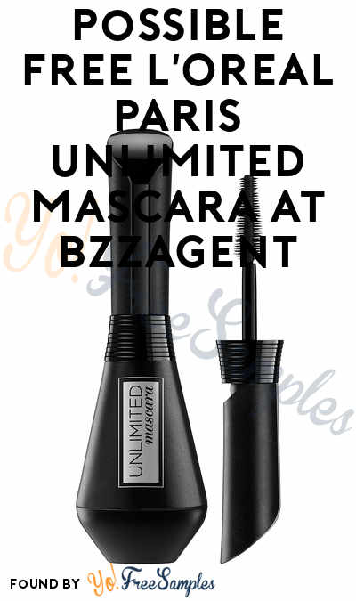 Possible FREE L'Oreal Paris Unlimited Mascara At BzzAgent
