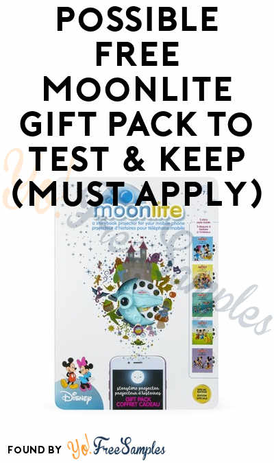 Possible FREE Moonlite Gift Pack To Test & Keep (Must Apply)