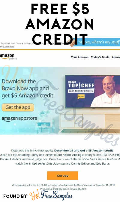Back Again! FREE $5 Amazon Credit For First 12,000 To Install Brave TV App (Android Only)