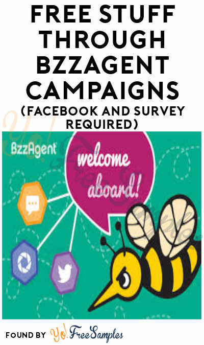 FREE Products To Test, Samples & Influencer Freebies From New BzzAgent Website (Social Media Accounts & Survey Required)