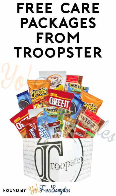 FREE Care Packages For Deployed Service Members From Troopster