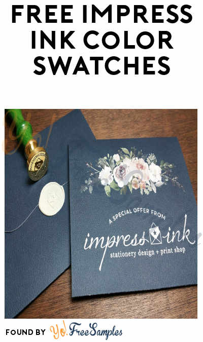 FREE Impress Ink Color Swatches