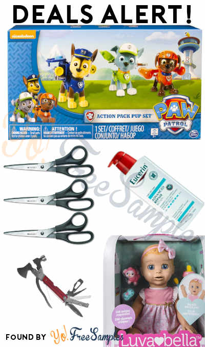DEALS ALERT: Paw Patrol Pup Set, Luvabella, Eucerin, Tools & More