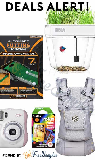 DEALS ALERT: Fish Tank Water Garden, Auto Putt Golf System, LILLEbaby Carrier, Fujifilm Instax Mini & More